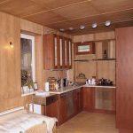 Фото 81: Клееная фанера в отделке дачного дома