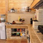 Фото 85: Внутренняя отделка кухни дачного дома