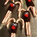 Фото 29: Олени из рождественских леденцов