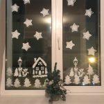 Фото 18: Простые узоры на окне