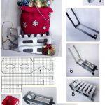 Фото 30: Саночки и мешочек для подарков