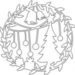 Фото 67: Шаблон новогодний шар