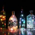 Фото 21: Украшение гирляндой бутылок