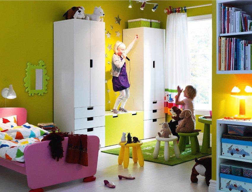 Мебель в детской