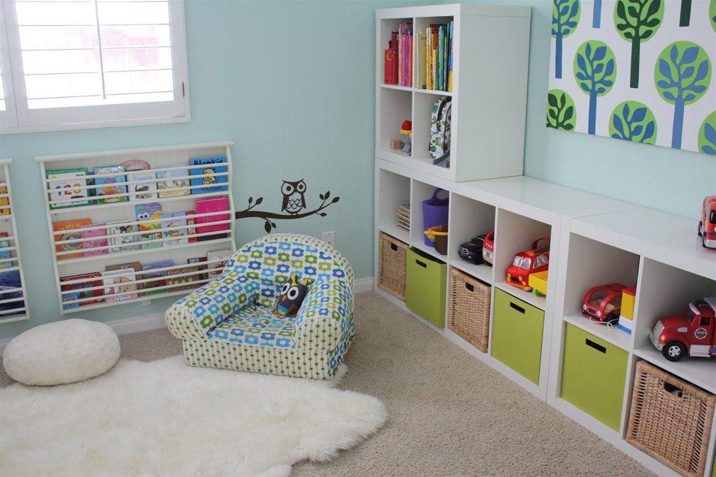 Хранение игрушек в детской