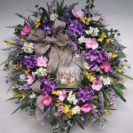 Фото 38: Венок из весенних цветов