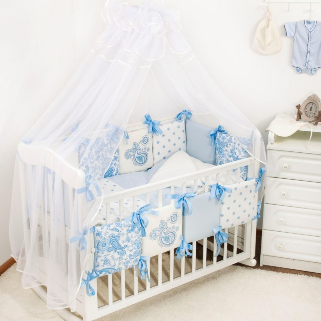 Комплект для кроватки новорожденного
