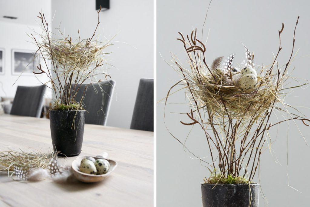 Пасхальное деревце-гнездо
