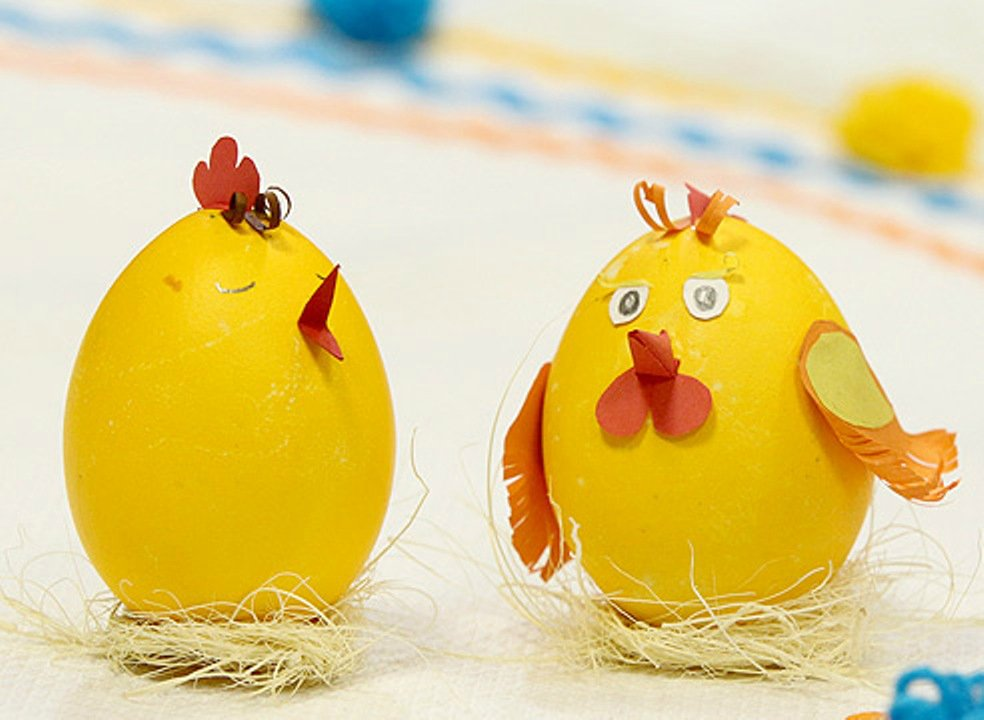 Птенчики из яиц