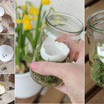 Фото 8: Пасхальный флорариум-свеча