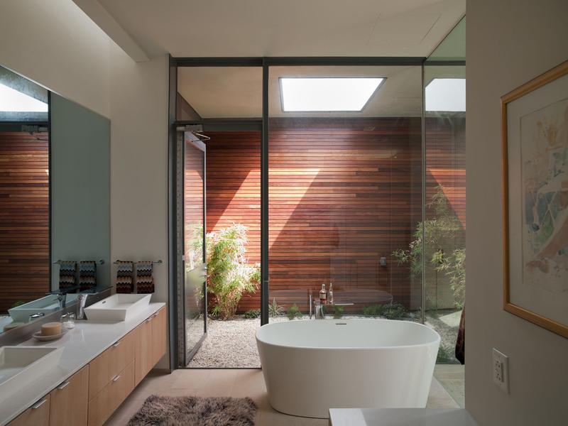 Экодизайн ванной комнаты