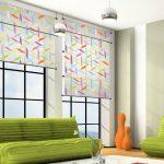 Фото 47: Рулонные шторы с принтом
