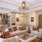 Фото 8: Гостиная в классическом стиле