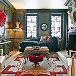 Фото 13: Дизайн гостиной в стиле эклектики