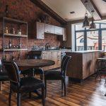 Фото 20: Кухонная зона в стиле лофт