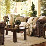 Фото 25: Ротанговая мебель в эко гостиной