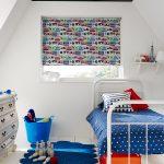 Фото 30: Рулонные шторы в детской