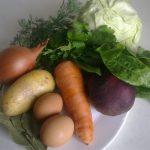 Фото 31: продукты для зеленого борща