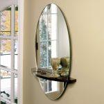 Фото 72: Овальное настенное зеркало