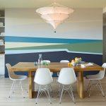 Фото 74: Оформление стен в столовой