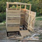 Фото 12: Этапы строительства кабинки для душа