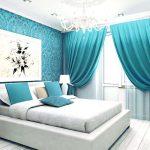 Фото 2: Современный дизайн в бирюзовом цвете