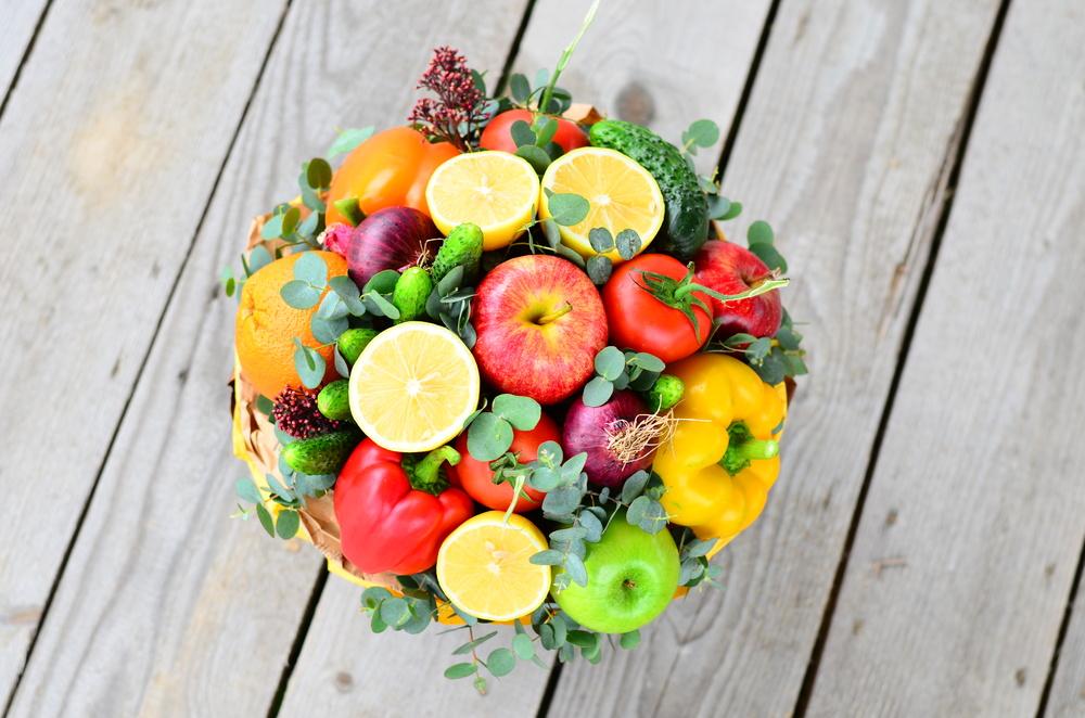 Прекрасный букет из фруктов