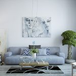 Фото 3: Светлые картины в дизайне интерьера