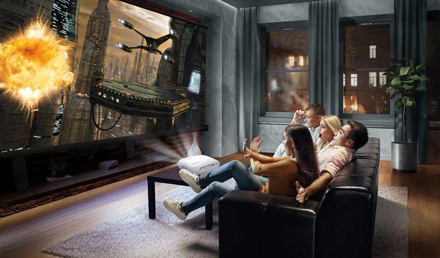 Реалистичное изображение - проектор для домашнего кинотеатра