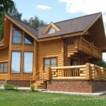 Фото 10: Проект дома из оцилиндрованного бревна