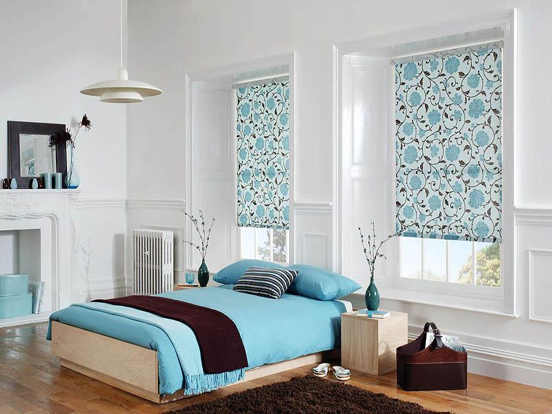 Римские занавески для спальни
