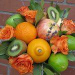 Фото 2: Как собрать букет из фруктов