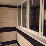 Фото 26: отделка балкона панелями