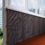 Фото 29: отделка балкона панелями