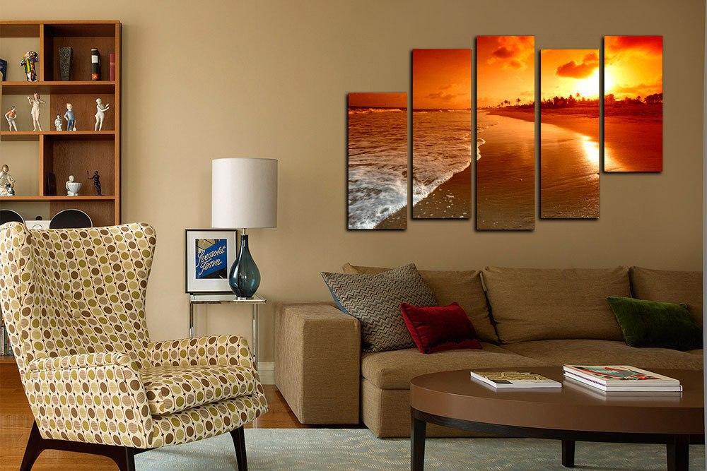 Постер в гостиную современный стиль