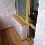 Фото 5: отделка балкона панелями