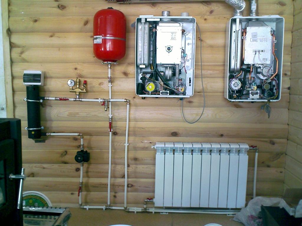 Монтаж системы отопления на электрических котлах