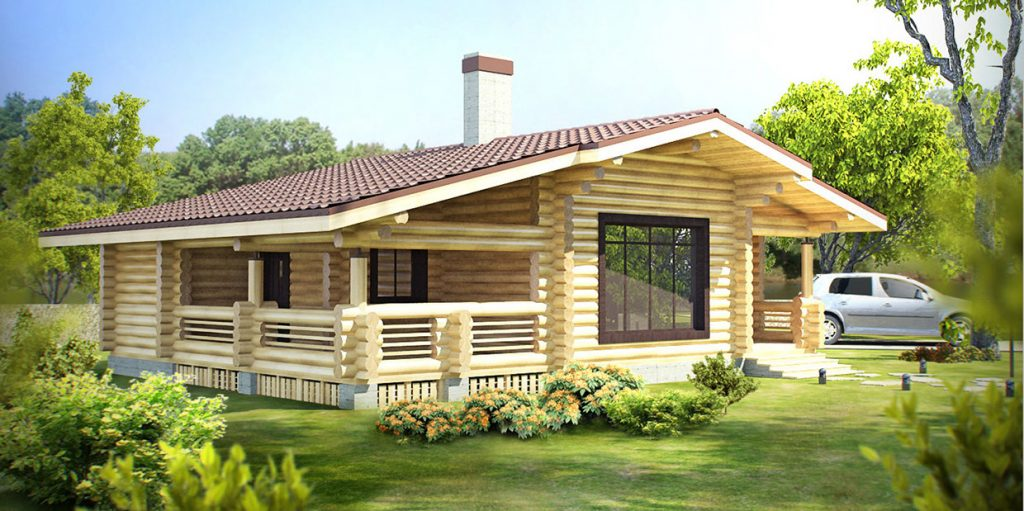 Современные деревянные дома под ключ