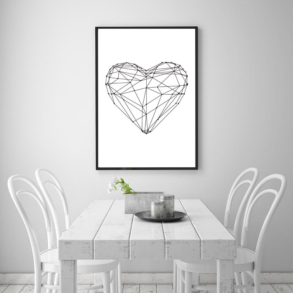 Стильный и гармонично сочетающийся дизайн столовой