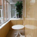 Фото 8: отделка балкона панелями