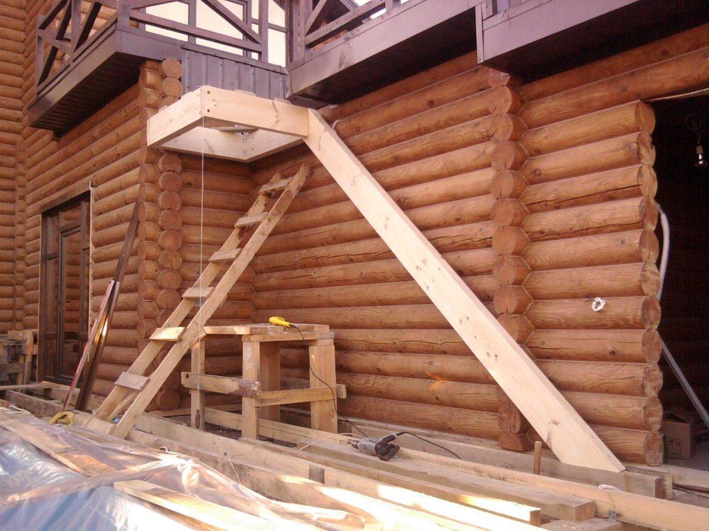 Качественное строительство деревянных домов под ключ