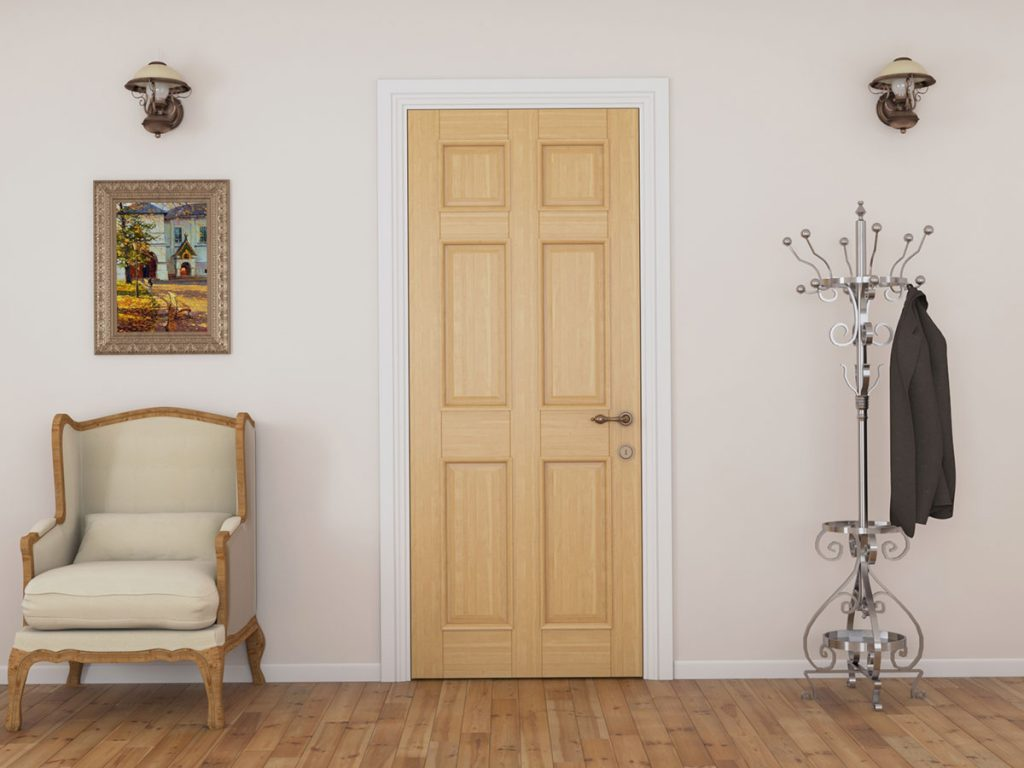 Дизайн и качество шпонированных дверей