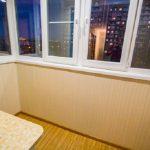 Фото 61: отделка балкона панелями