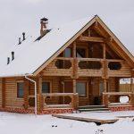 Фото 20: Строительство дома из бревна