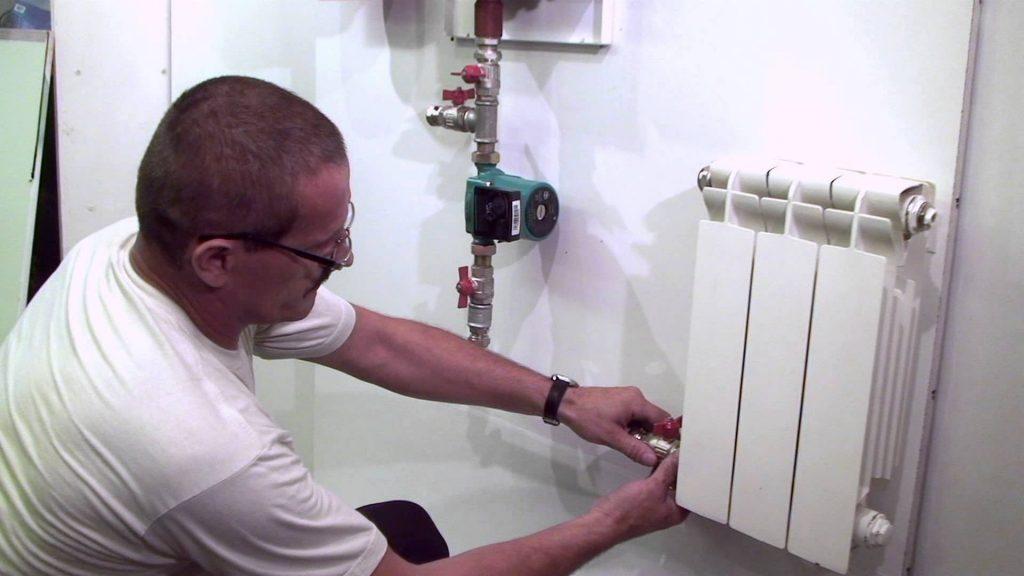 Установка и подключение радиаторов отопления