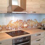 Фото 6: Современный дизайн кухонного фартука