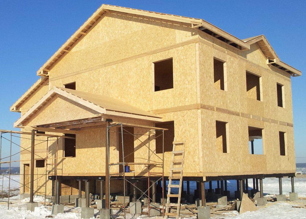 Поэтапное строительство дома из СИП-панелей