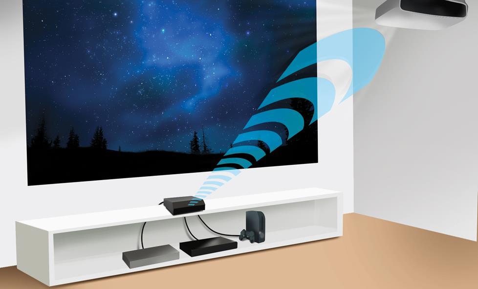 Проектор со встроенным BlueTooth адаптером