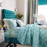 Фото 44: Сочетание цветов в интерьере спальни