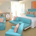 Фото 53: Мебель бирюзового цвета